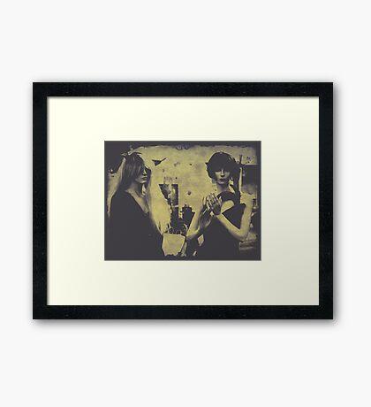 Pretentious Framed Print