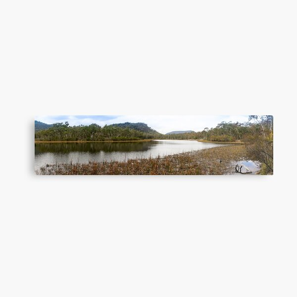 Dunns Swamp, Cudgegong River, Wollemi National Park, NSW Metal Print