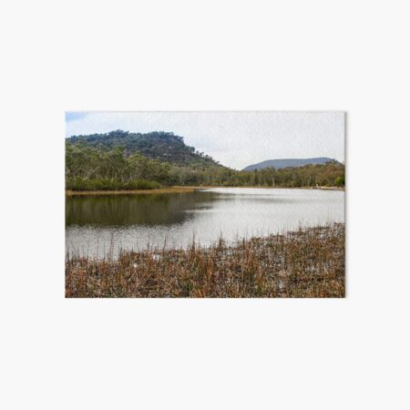 Dunns Swamp, Cudgegong River, Wollemi National Park, NSW Art Board Print