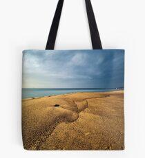 Sand Dolphin, Merewether Beach - Australia Tote Bag