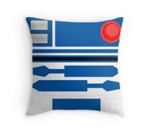 R2D2 Throw Pillow