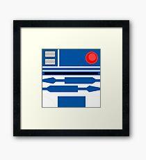 R2D2 Framed Print