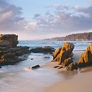 Beares Beach Bermagui by Brett Thompson