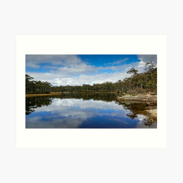 Dunns Swamp, Cudgegong River, Wollemi National Park, NSW Art Print