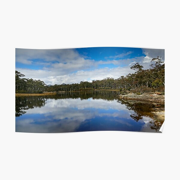 Dunns Swamp, Cudgegong River, Wollemi National Park, NSW Poster