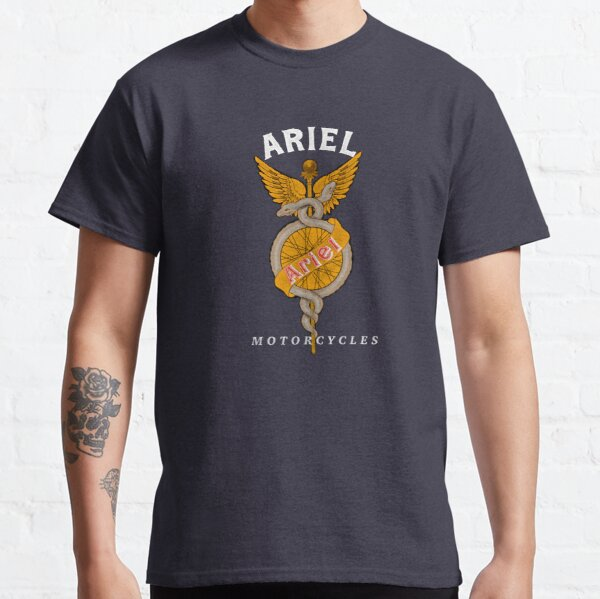 Classic Old Ariel Motorcycles Logo by MotorManiac Classic T-Shirt