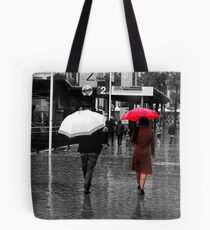 Quay Red Tote Bag