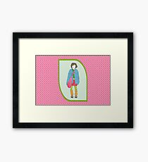 Girl Ten Framed Print
