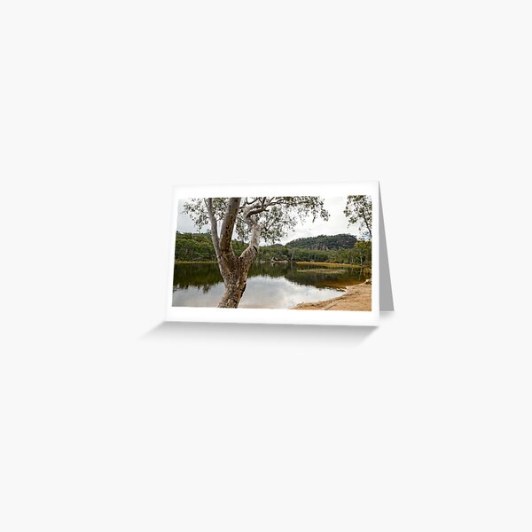 Dunns Swamp, Cudgegong River, Wollemi National Park, NSW Greeting Card