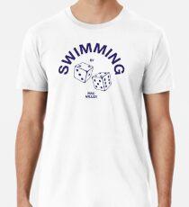 Swimming Dice  Premium T-Shirt