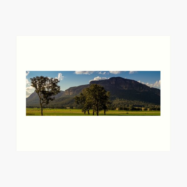 Glen Davis, Wollemi National Park, NSW Art Print