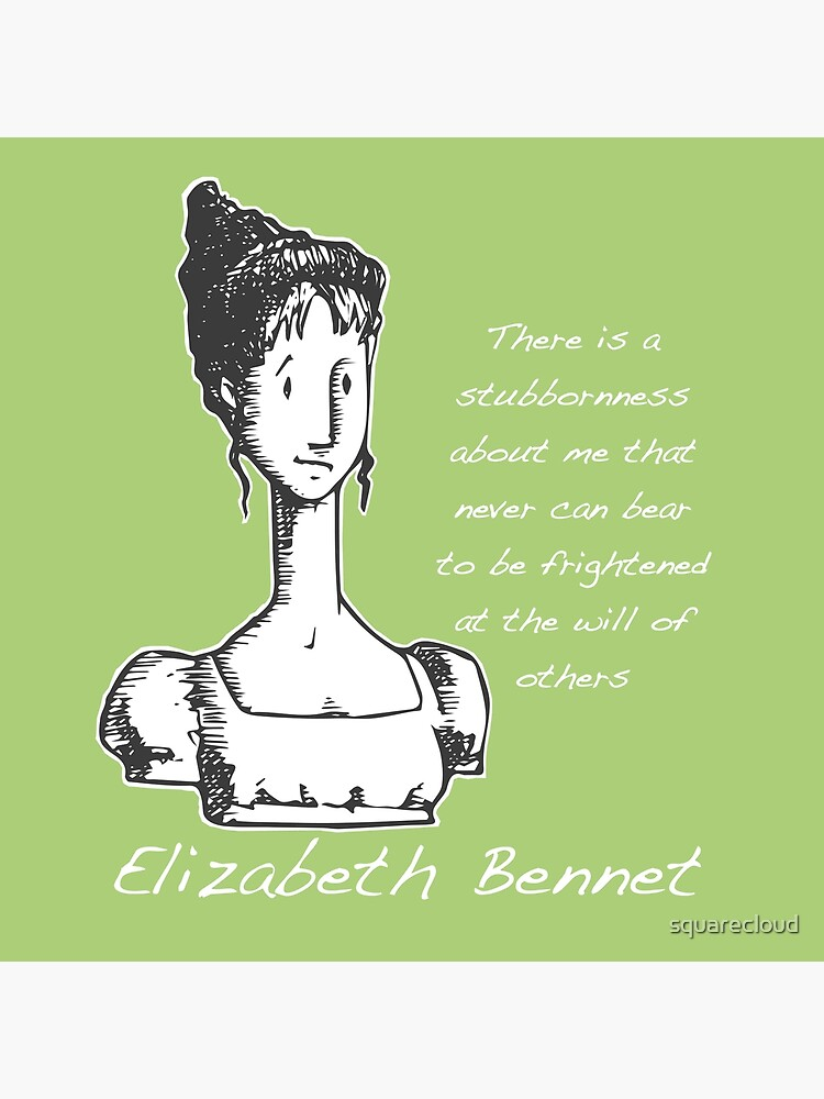 Jane Austen Elizabeth Bennet  by squarecloud
