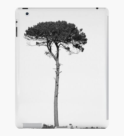 Nature in black and white iPad Case/Skin