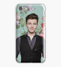 Chris Colfer Flowers iPhone Case/Skin