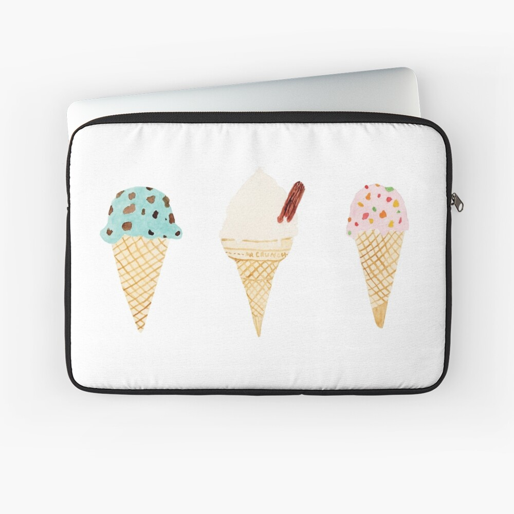 ice cream selection Laptop Sleeve
