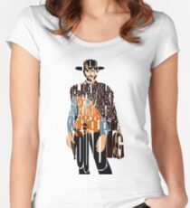 Blondie - The Good, The Bad and The Ugly Women's Fitted Scoop T-Shirt