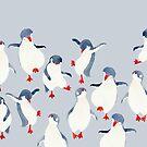 Muster Alltag | Tag der Pinguine von jjsgarden