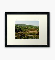 Devon Countryside Framed Print