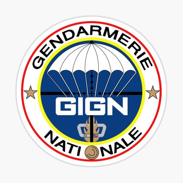 GIGN logo Sticker