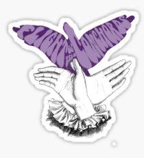 Flipping the Bird Sticker