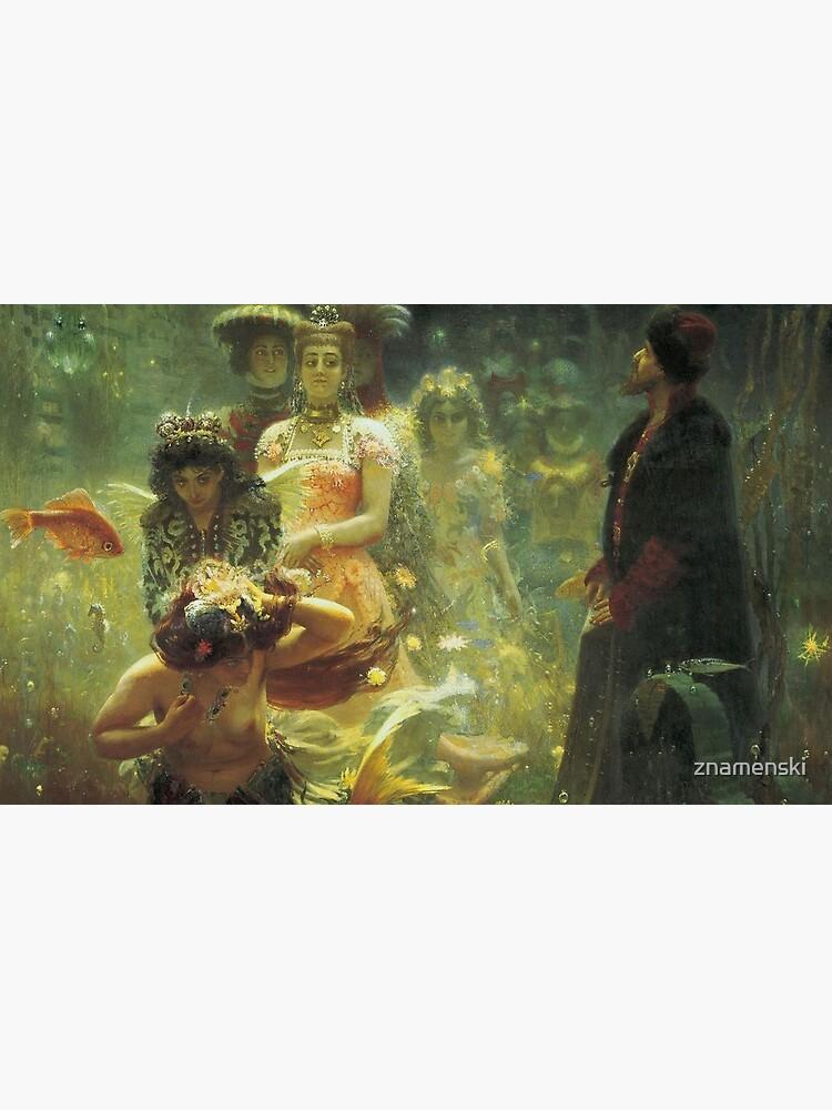 Ilya #Repin - #Sadko in the #Underwater #Kingdom - East Slavic epic Bylina - Esoteric art by znamenski