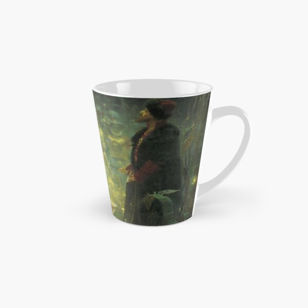 Ilya #Repin - #Sadko in the #Underwater #Kingdom - East Slavic epic Bylina - Esoteric art Tall Mug