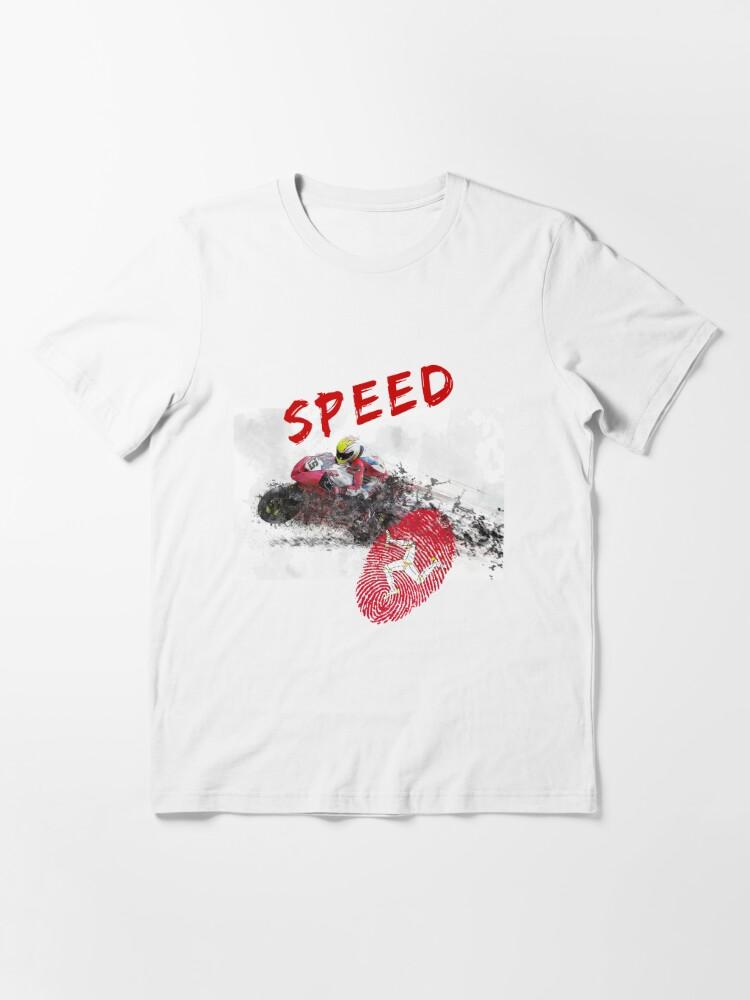 Alternative Ansicht von Isle of Man - Speed Essential T-Shirt