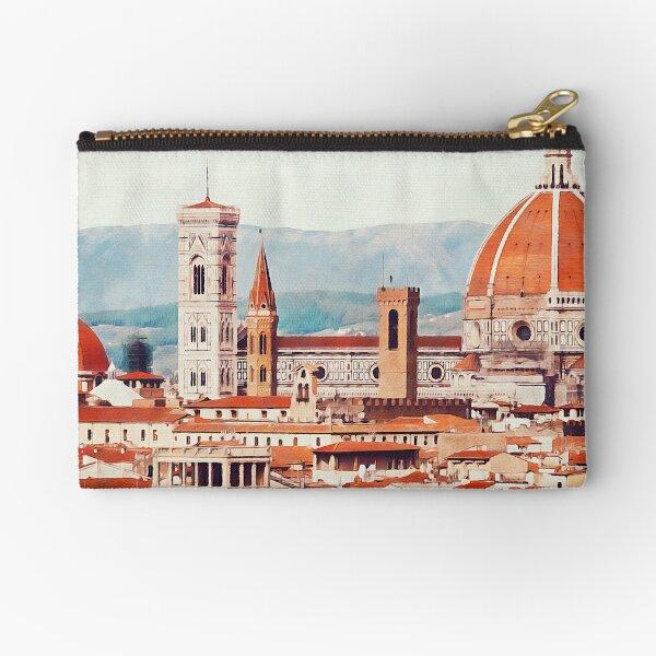 Florence Cityscape Zipper Pouch