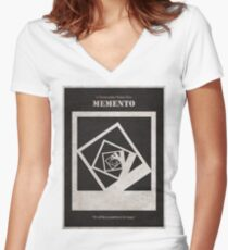 Memento Women's Fitted V-Neck T-Shirt