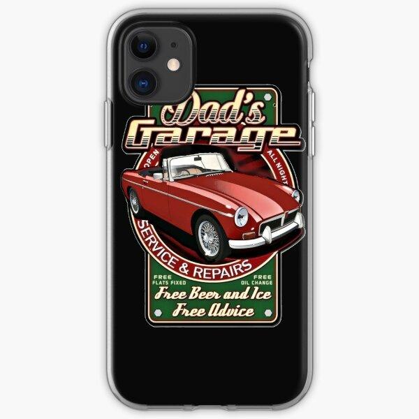 DAD'S GARAGE iPhone Soft Case