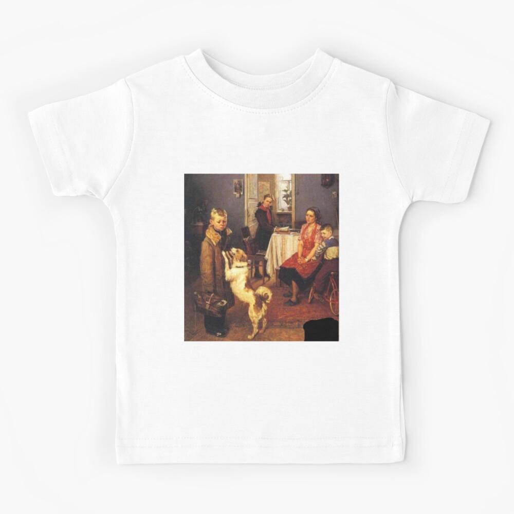 Решетников, Фёдор Павлович. «Опять двойка», холст, масло. Low Marks Again, Fyodor Reshetnikov Kids T-Shirt
