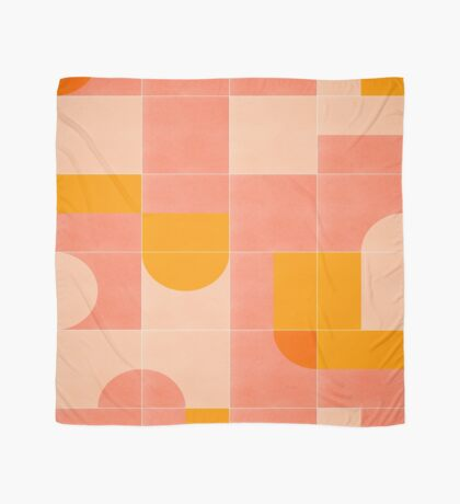 Retro Tiles 03 #redbubble #pattern Scarf