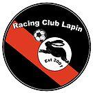 «Racing Club Lapin Black / Red Crest» de JoelCortez