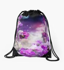 Pansy Fantasy Drawstring Bag