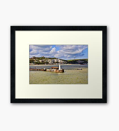 Those White Cliffs of Dover Framed Print