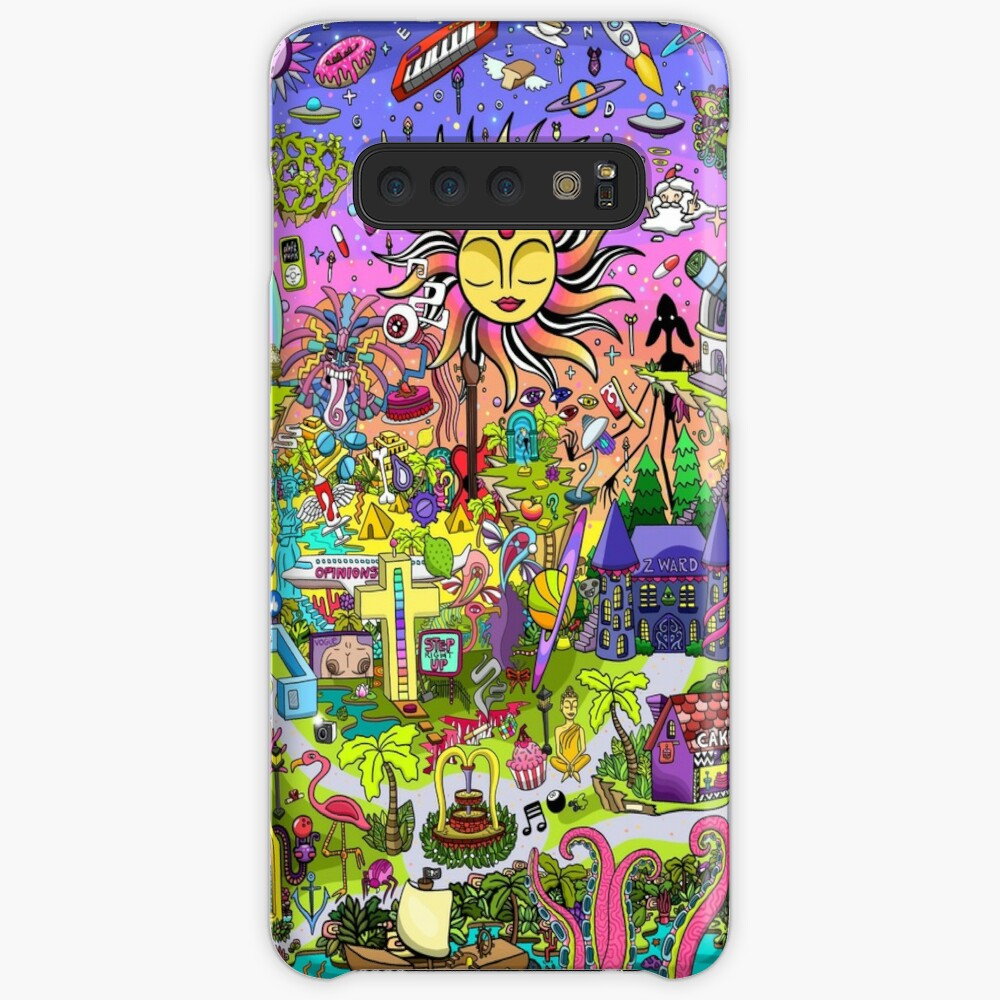 PSYCHEDELIC SUNSET REMIX Case & Skin for Samsung Galaxy