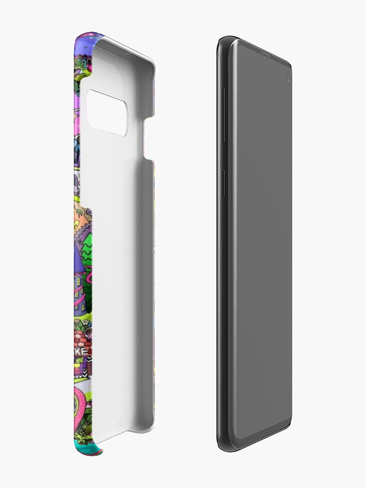 Alternate view of PSYCHEDELIC SUNSET REMIX Case & Skin for Samsung Galaxy