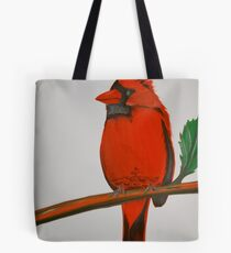 Cardinalis Cardinalis Tote Bag