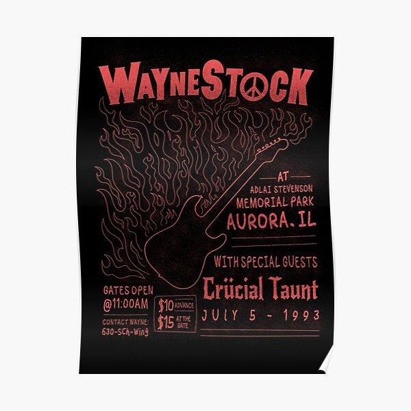 Waynestock Poster