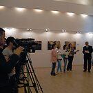 Opening My exhibition in Romania, Targoviste by Antanas