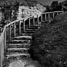 steps at Ballintoy by ragman