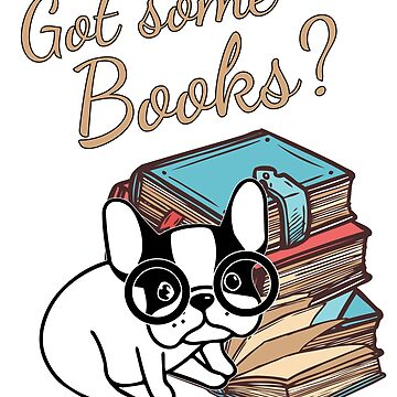Book lover french bulldog bookworm gift shirt Women man kids by handcraftline