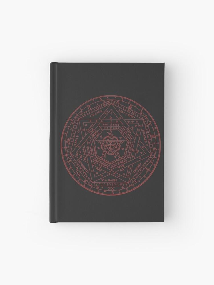 Sigillum Dei Aemeth Sigil of Ameth Enochian John Dee Rosicrucianism |  Hardcover Journal