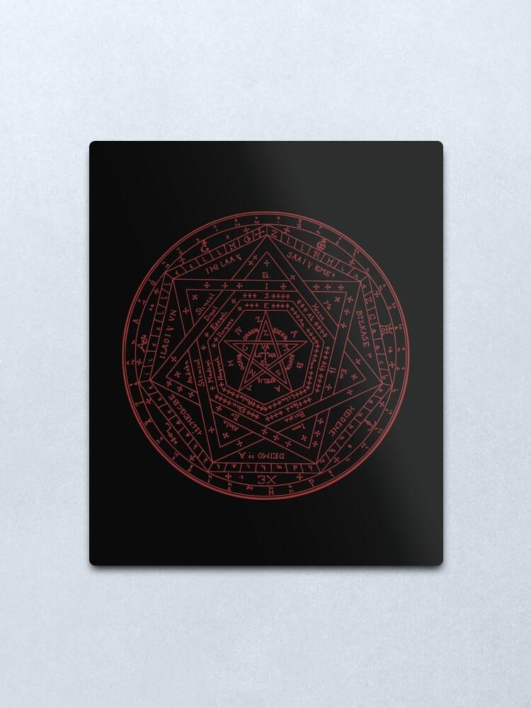 Ésotérique Mug-Sigillum dei aemeth John Dee occulte Alchimie Hermétique Cadeau