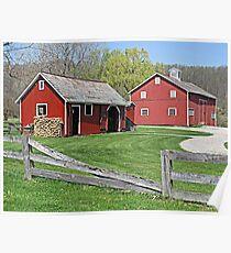 Barns of Hale Village Poster