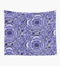 Psychodelia Purple Black and White Groovy Art - Trippy Design Gift Wall Tapestry