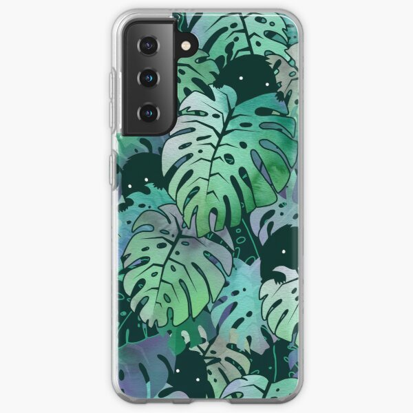 Monstera Monsters Samsung Galaxy Soft Case