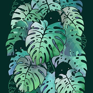 Monstruos monstera de littleclyde