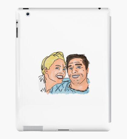 Paul and Catherine King Illustration iPad Case/Skin