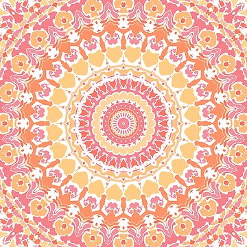 Sunshine in the Summer Mandala by kellydietrich